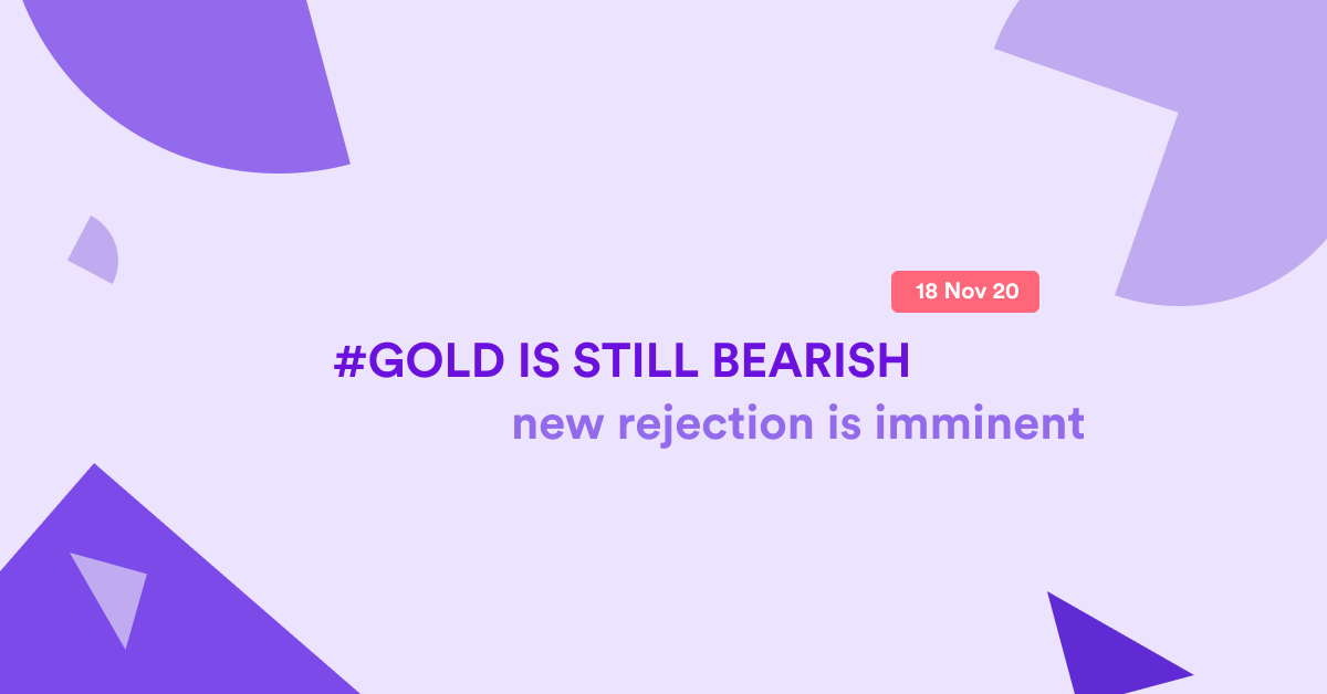 Gold possible rejection off the 88.6 zone