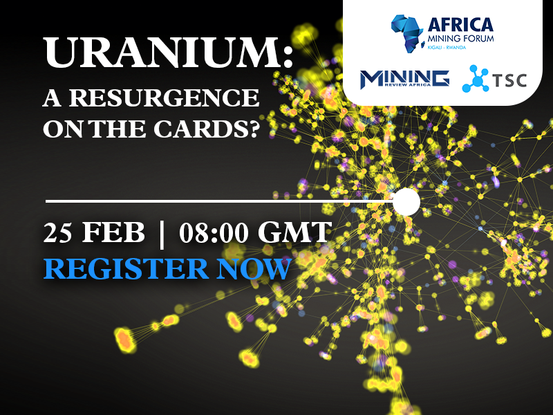 Webinar 25 February: Uranium – A resurgence on the cards?