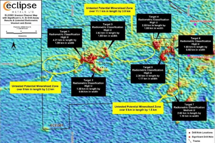 Eclipse review serves up shallow NT uranium mineralisation