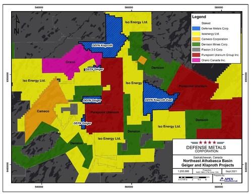 Defense Metals Revaluates Its Athabasca Basin Uranium Projects