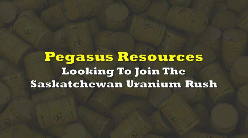 Pegasus Resources: Looking To Join The Saskatchewan Uranium Rush